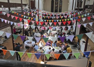 Community event at Fabrica